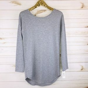 NWT Gilligan & O'Malley Iron Grey Sleep Shirt